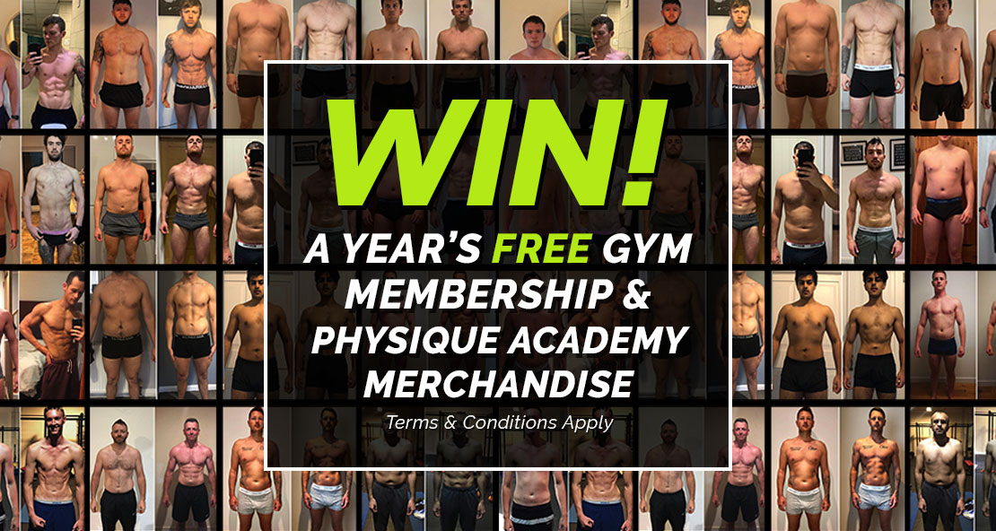 02/04/21 Win a free year's gym membership