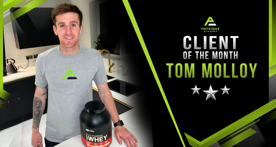 01/04/21  Client of the Month Tom Molloy
